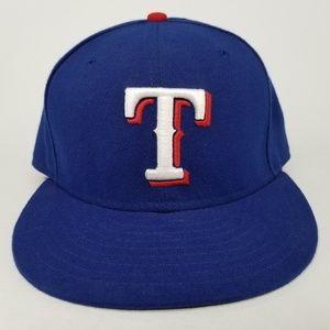 Texas Rangers New Era 59FIFTY Baseball Hat 7 3/8